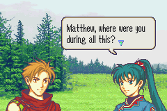 Fire Emblem - Cut-Scene  - Excellent Question - User Screenshot